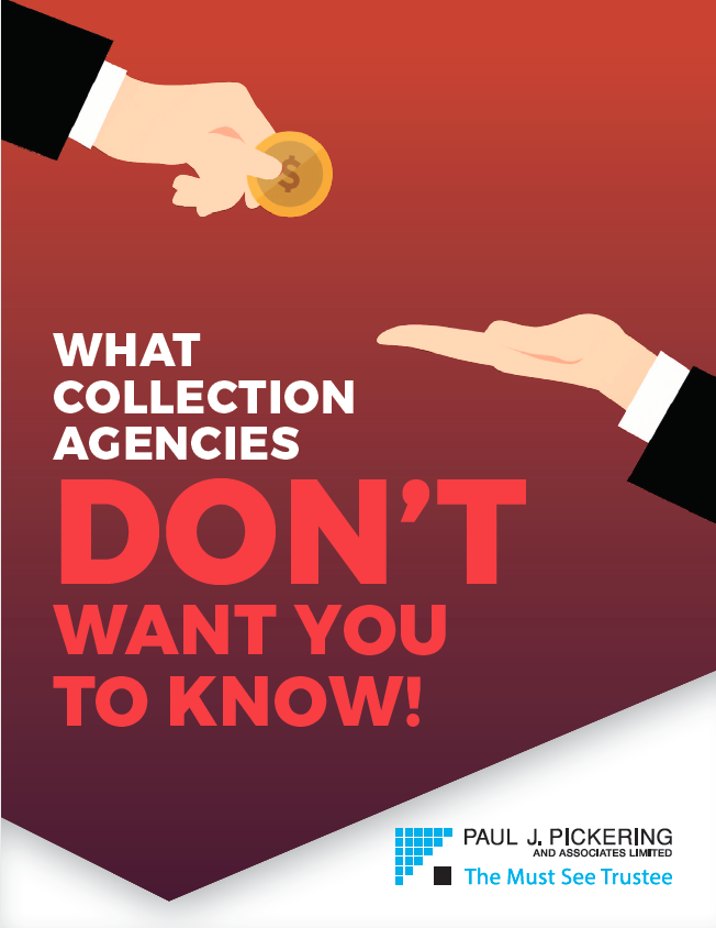 "cover of ""What collection agencies don't want you to know!"" ebook"